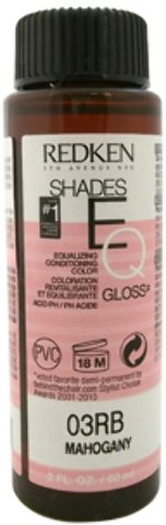 Redken - Shades Eq Color Gloss 03Rb - Mahogany (2 Oz.) *** Product Description: Shades Eq Color Gloss 03Rb - Mahogany By Redken For Women - 2 Oz. Hair Colorit Is Voted #1 Demi-Permanent Hair Color In The U.S. Shades Eq Provides Healthy, Shiny Res *** Mahogany Shade