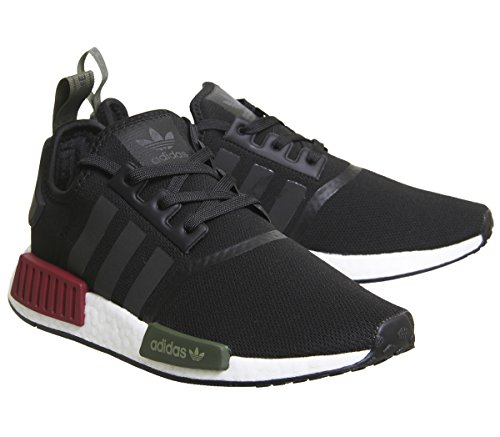Olive Exclusive NMD Herren adidas Derbys r1 Burgundy Black Bianco Eu wp8wZq