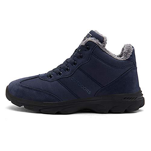 Neige Chaudes Homme Imperméable Confortable Bottes Bleu Randonnée Femme 46eu Chaussures 1 De Hiver 36 5Tnqgxwz