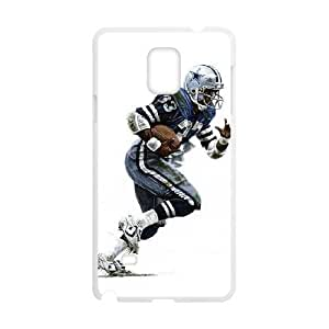 Samsung Galaxy Note 4 White Cell Phone Case Dallas Cowboys NFL Fashion Phone Cases Personalized NLYSJHA0670 by kobestar