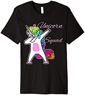 [Featured] Unicorn Squad dabbing dab dance funny gift Premium in ALL styles | Size S - 5XL
