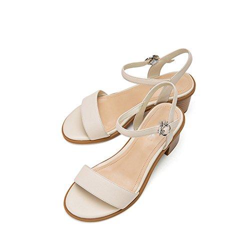 de de Zapatillas de de Color Sandalias Moda Sandalias Planas Sandalias Ocasionales S DHG de Mujer Verano Dulces Punta nwxZqOWp0