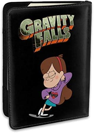 怪奇ゾーン グラビティフォールズ ポスター Gravity Falls TV Poster パスポートケース パスポートカバー メンズ レディース パスポートバッグ ポーチ 収納カバー PUレザー 多機能収納ポケット 収納抜群 携帯便利 海外旅行 出張 クレジットカード 大容量