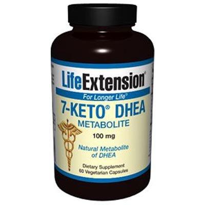 7-Keto DHEA métabolites 100 mg, 60 capsules végétariennes
