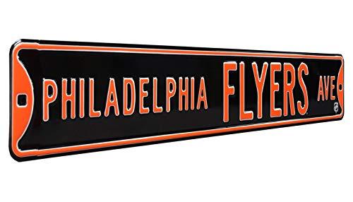 NHL Philadelphia Flyers Ave, Heavy Duty, Metal Street Sign Wall Decor