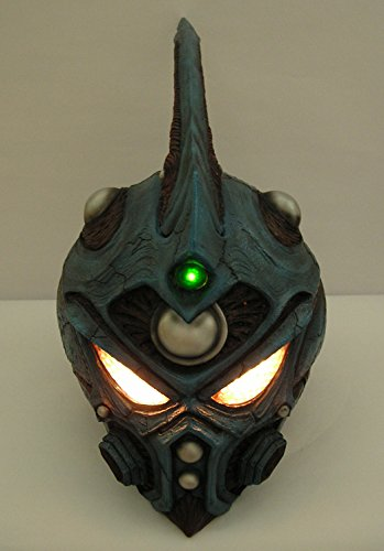 Guyver Costume Cosplay (Lighted up Costume Helmet !! 1/1 Scale Life-Size ! Guyver Cosplay Mask Cosplay Props)