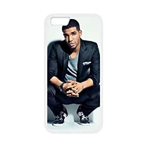 DAFUWENG(TM) Diy Customized Phone Case Drake Pattern for iphone 6s (4.7 inch) White