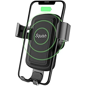 Amazon Com Squish Wireless Charger Car Phone Mount
