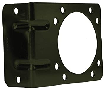POLLAK 12-711U Right Angle Mounting Bracket for 7-Way Trailer Connector