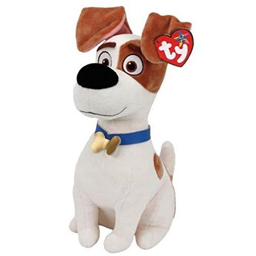 Ty Beanie Babies Secret Life of Pets Max The Dog Medium Plush (Best Friend Max Walking Dog)