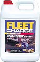 Fleet Charge Fcab53 Sca Precharged Coolant/antifreeze, Gallon (Pack Of 6)