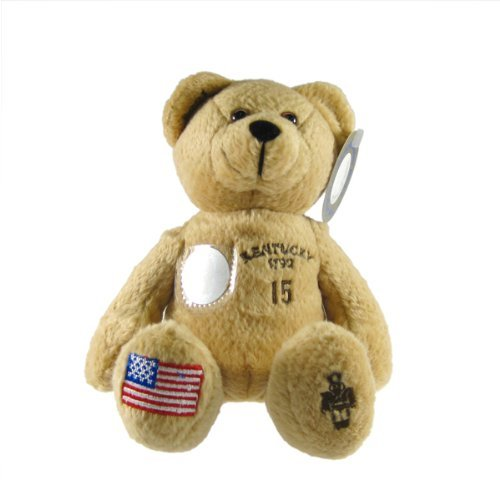 Timeless Toys Quarter Bear State - Kentucky State Quarter Bear Collectible Stuffed Bear by Timeless Toys