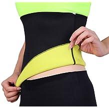 SLTY Women & Men's Sports Hot Thermo Sweat Neoprene Shapers Tummy Slimmer Sauna Belt For Weight Loss Body Shapewear