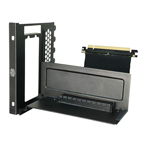 Cable Elite Videos Series - Cooler Master Accessory: Fits MasterBox, MasterCase, Maker, H500P Series Vertical Display VGA Holder Kit w/ Riser Cable