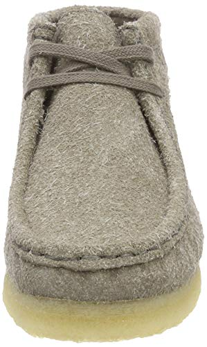 Clarks Gris Boot Interest Botines grey Wallabee Originals Femme rHCqr