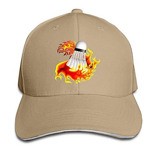 Hat Badminton Fire Denim Skull Cap Cowboy Cowgirl Sport Hats Men Women