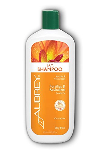 J.A.Y. Fortifies & Revitalizing Shampoo Aubrey Organics 16 oz Liquid