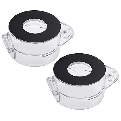 - uxcell 2pcs Black Clear Plastic Switch Cover Protector for 22mm Diameter Push Button Switch