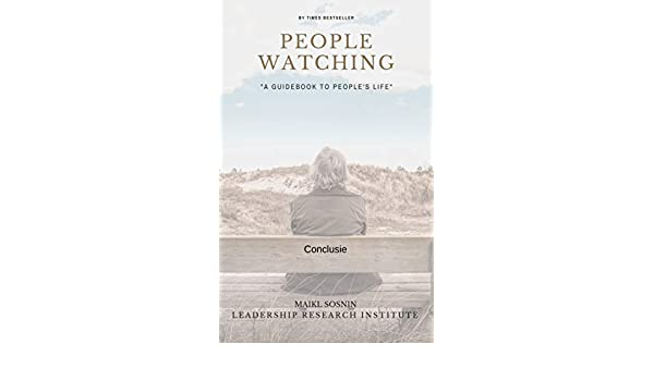 People watching: Conclusie (Dutch Edition) eBook: Maikl ...