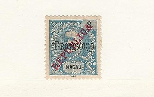 Macao, Postage Stamp, #252 Mint Hinged, 1915 Portugal Colony