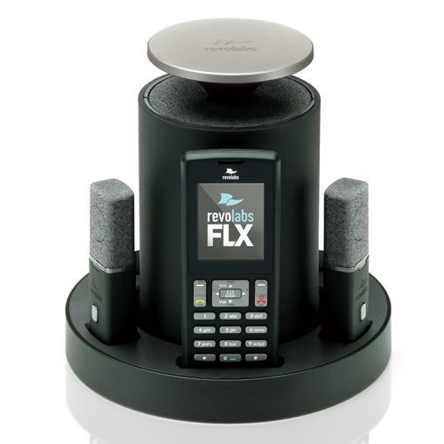 REVOLABS Revolabs FLX2 10-FLX2-020-VOIP IP Conference Station - Wireless<br>FLX2-020 VOIP SIP WITH 2DIRECTIONAL MICS<br>1 x Total Line - VoIP - Caller ID - Speakerphone - 1 x Network (RJ-45) - USB by Revolabs