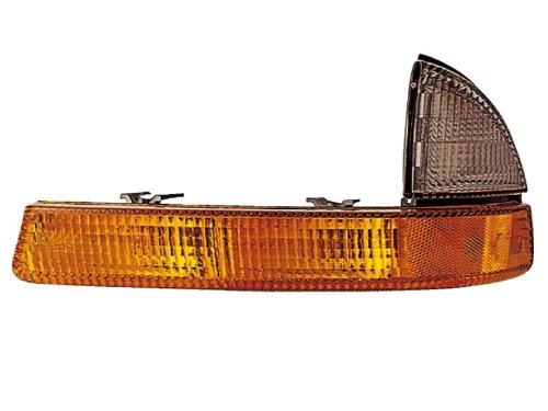 Headlights Depot Replacement for Dodge Dakota/Durango New Driver Side Park Signal ()