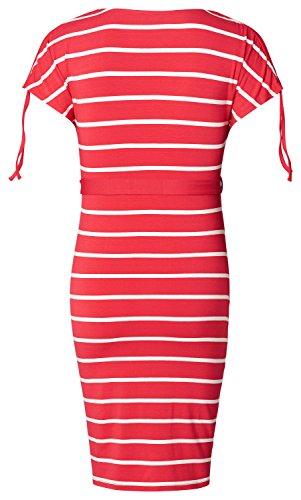 Noppies, Vestido Premamá para Mujer Mehrfarbig (Coral C072)