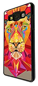 281 - Aztec Lion Face Design For Samsung Galaxy Grand Prime Fashion Trend CASE Back COVER Plastic&Thin Metal