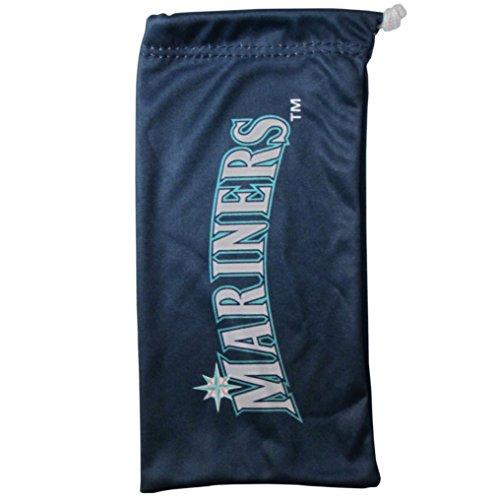 Siskiyou MLB Seattle Mariners Microfiber Sunglass Bag, Navy Blue, Adult