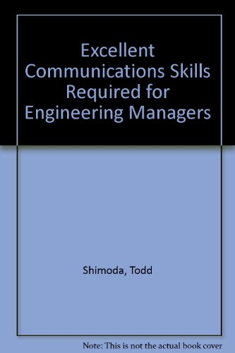 Excellent Communication Skills Required for Engineering Managers