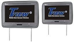 Tview T122PL-GR Car Headrest Monitor, Grey