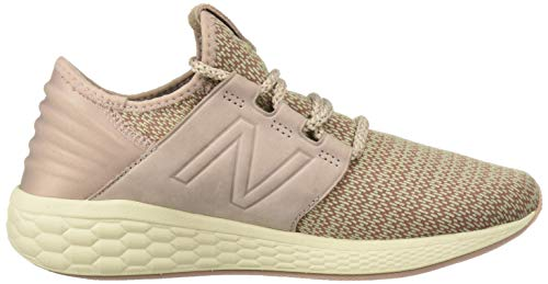New Balance Women's Cruz V2 Fresh Foam Running Shoe Faded Birch/au Lait/Alabaster 5 B US by New Balance (Image #7)