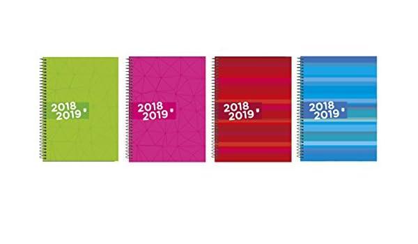 Enri Identity - Agenda escolar día página, castellano con ...