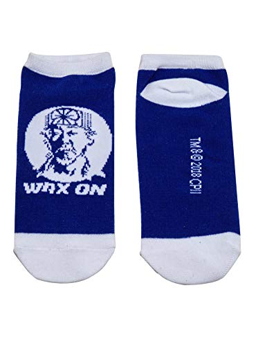 The Karate Kid Mr. Miyagi Wax On No-Show Socks ()