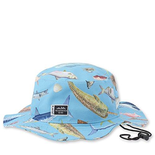KAVU Bfe Fishing Hat, Fish Fiesta, One - Fish Fiesta