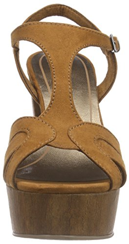 Marco Tozzi 28365 - Sandalias con plataforma Mujer Marrón - Braun (COGNAC 305)