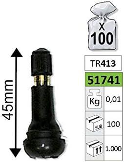 JBM 51741/Pochette de 100/V/álvulas TR413/45/mm