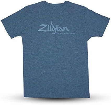 Zildjian 헤더 블루 티셔츠 사이즈 M / Zildjian 헤더 블루 티셔츠 사이즈 M
