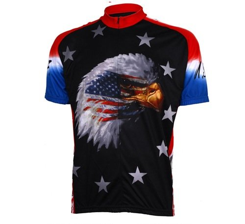 World Jerseys Men's American Eagle Cycling Jersey, American Eagle, XX-Large