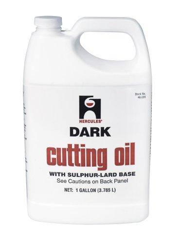 1 Gallon Thread Cutting Oil (Oatey Hercules 40220 Dark Cutting Oil, 1 Gallon)