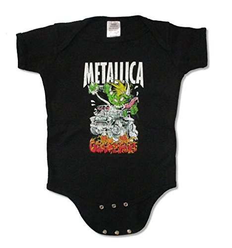 Metallica Gimme Fuel Baby Infant Black Jumper Crawler One Piece