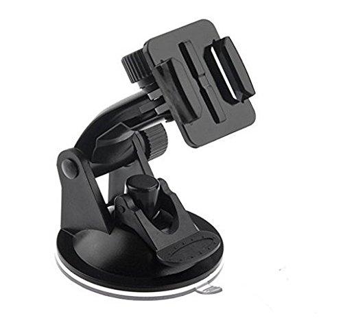 Bestyou Suction Cup Mount for GoPro and free Quick Release Buckle Adapter Bracket