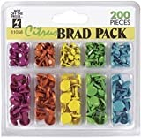Hot Off The Press Brad Pack 200-Pack, Citrus