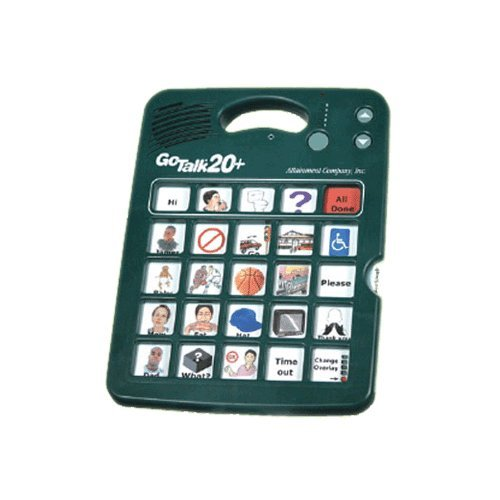 GoTalk 20+ Communicator-With Overlay Software-GT-S20W-Each by Misc Manufacture