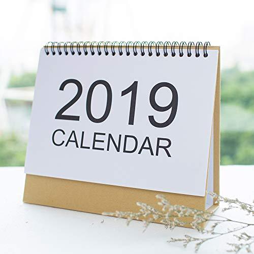 2019 Desk Calendar - ISEYMI (2019 New Design) Daily Calendar Planner Including Jan.2019 to Feb.2020 Agenda Notepad Best New Year Gift Sell Price