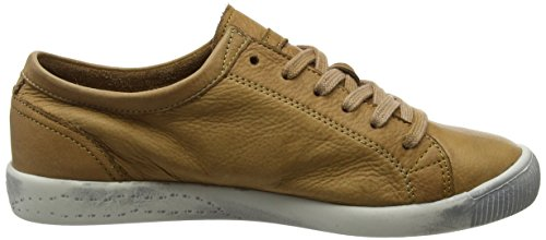 Marrone Softinos Brown Sneaker 553 Washed Isla Donna fqx6w0Hq