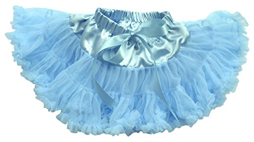 [Dancina Tutu Cute Fairy Princess Dressup Birthday Party Costume 6-24 months Light Blue] (Smurf Baby Costumes)