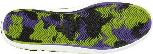 Fallen THE EASY 41070056 - Zapatillas de skate de ante para hombre Negro (Schwarz (Black/Rainbow))