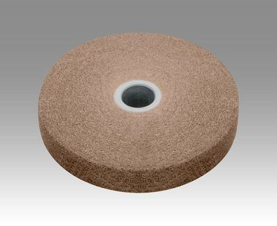 3M (XL-UW) EXL Unitized Wheel, 6 in x 1 in x 1/2 in 8A MED [You are purchasing the Min order quantity which is 2 Wheels] by 3M