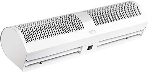 白い超薄いエアカーテンの合金の反腐食の箱のコマーシャル/家の屋内、強力な、静かな、小型の、軽量